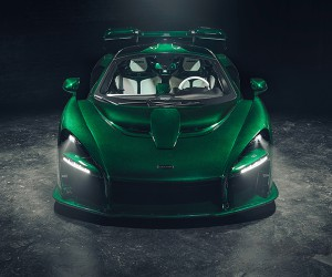 McLaren Senna Emerald Green By MSO