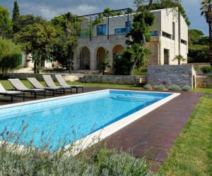 Mediterranean Villa in Ancient Croatian Town