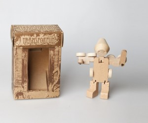 Meet WooBots  Creative Wooden Robot Toy
