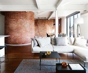 Melbourne apartment in a former chocolate factory
