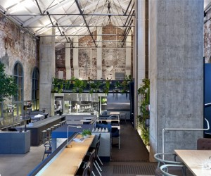 Melbourne Restaurant with Exposed Brickwork