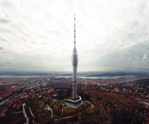 Melike Altnks Futuristic Tower Roars Above Istanbul