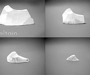 Meltain: Eraser Reminds Global Warming