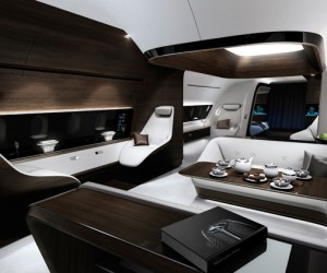 Mercedes-Benz and Lufthansa Develop VIP Aircraft Cabin