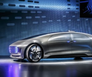 Mercedes-Benz F 015 self-driving luxury sedan