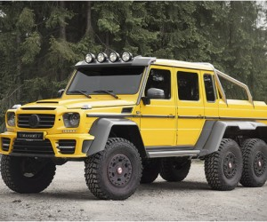 Mercedes-Benz G63 AMG 6x6 | by Mansory