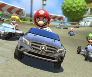 Mercedes Benz introduces Real Vehicles in Mario Kart 8