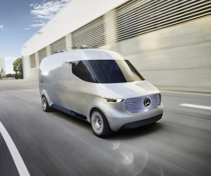 Mercedes-Benz Vision Van with Delivery Drones