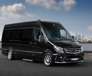 Mercedes-Benz x Brabus Sprinter: Business Lounge Concept