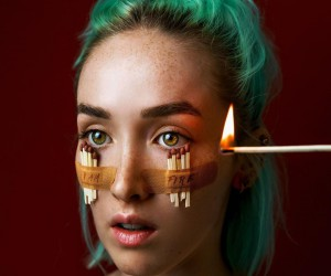 Mesmerizing and Playful Self-Portraits by Claire Luxton