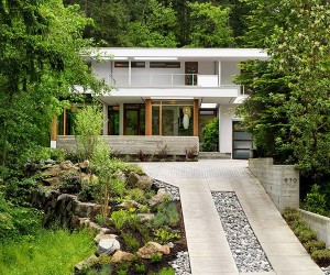 Mesmerizing Modern Custom Home in British Columbia