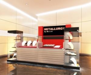 Metallurgy Kiosk Design by I-Dea Catalysts