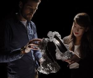 Meteorite Shoes by Studio Swine