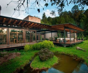 Mexican forest house: what heaven looks like