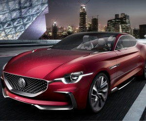 MG Motor Unveils E-Motion Concept Car in Shanghai