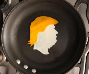 Michele Baldini Turns His Breakfast Eggs Into Works of Art on Instagram