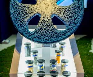 Michelin Unveils Vision 3D-Printed Tire
