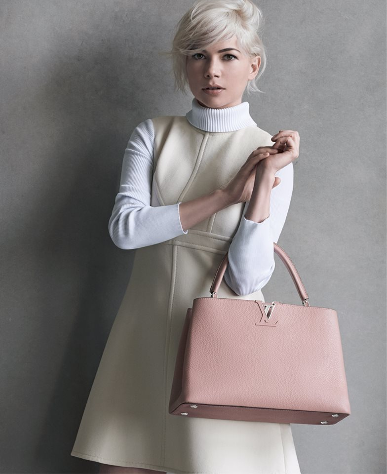 3379096410 Michelle Williams Returns For A New Louis Vuitton Advertising Campaign