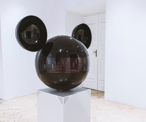 Mickeyphon Kinetic Sculpture by PanGenerator