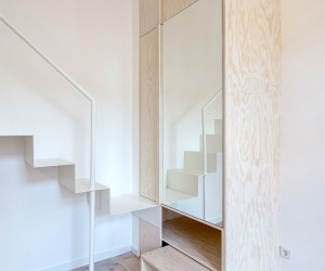 Micro-Apartment Moabit by spamroom  johnpaulcoss