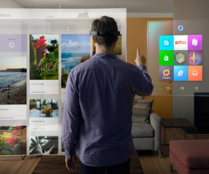 Microsoft Showcases Holographic Future with HoloLens