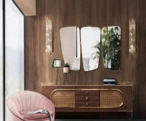 Midcentury Modern Panache: Trendy New Dcor from Essential Home