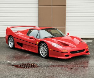 Mike Tysons 1995 Ferrari F50 Goes Up To Auction