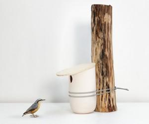 Mikko birdhouse by Pygmalion Studio