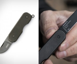 Mikov Carbon Coated Pocket Knife