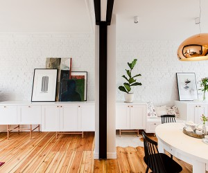Mili Modzi Ludzie Restores 20th-century Apartment in Wilda