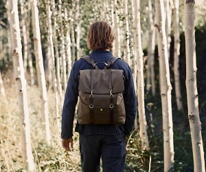 Military grade canvas backpack that will last you a lifetime