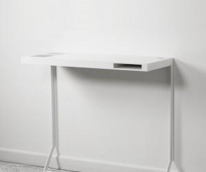 Milk Mini Desk by Sren Rose Studio