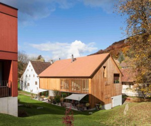 Mill Barn Conversion in Hofstetten-Flh, Switzerland by Beck  Oser Architekten
