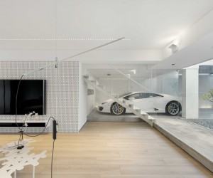 Millimeter Designs House in Hong Kong For Car Lover