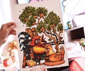 Mind-Blowing Handmade Artworks Illustration Work