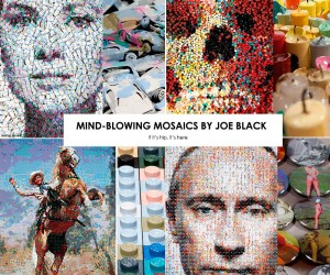 Mind Blowing Mosaics by Joe Black