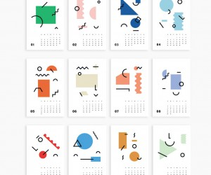 Mini Art Calendar