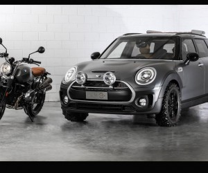 MINI Italy Unveils the Clubman ALL4 Scrambler Concept