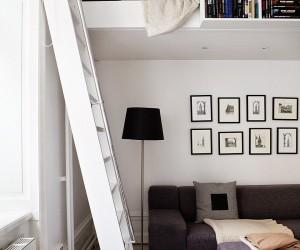 Minimal and practical studio design
