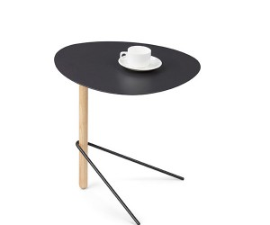 Minimalism Wood and Metal Side Table