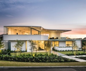 Minimalist Aesthetics Define Resort-Styled Private Perth Residence