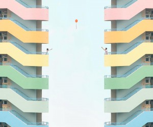 Minimalist Architecture and Industrial Photography by Chak Kit