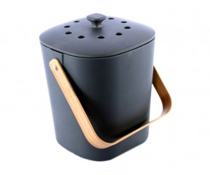 Minimalist Bamboo Composter