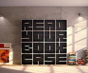 Minimalist Bookshelf  A.R.T for A.B.C