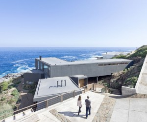 Minimalist Catch the Views House Frames Natures Perfection with Charming Design Lines