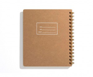 Minimalist Left-Handed Notebook