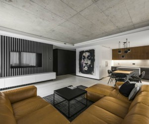 Minimalist Urban Flat in Vilnius by InArch Studio