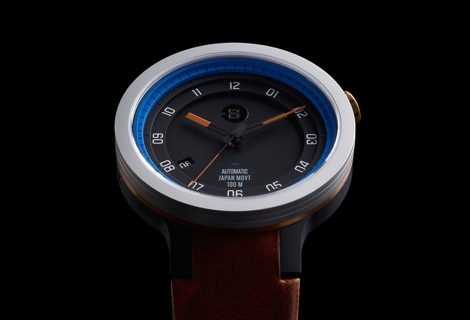 Minus 8 Layer Leather Watch