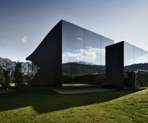 Mirror Houses South Tyrol by Peter Pichler Architecture