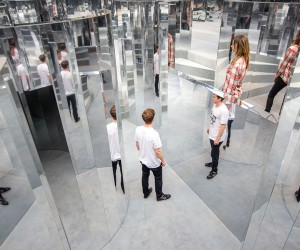 Mirror Maze by Es Devlin in Londons Peckham